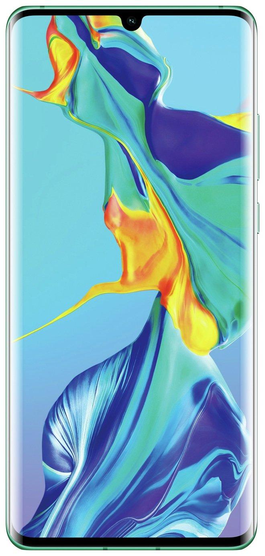 SIM Free Huawei P30 Pro 128GB Mobile Phone - Aurora Blue