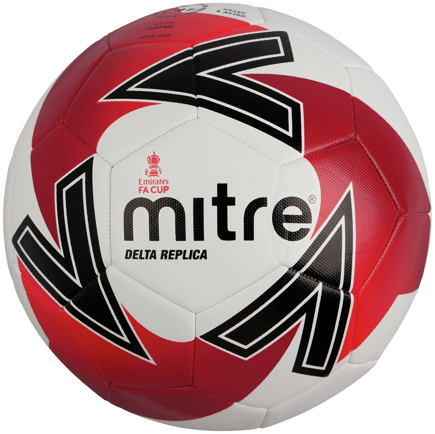 Mitre Official FA Cup Size 5 Football