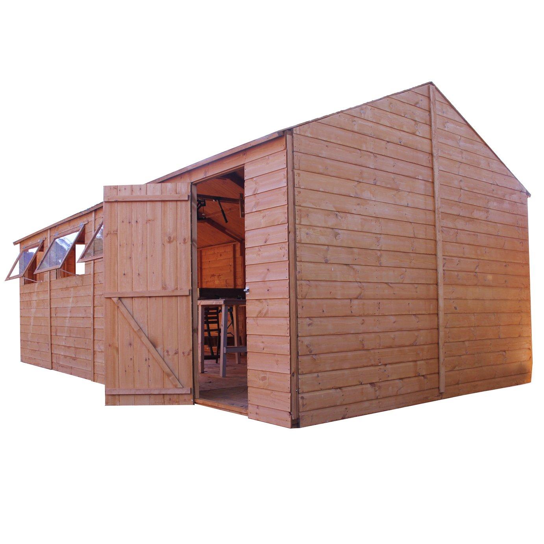 Mercia Wooden 20 x 10ft Premium Apex Workshop
