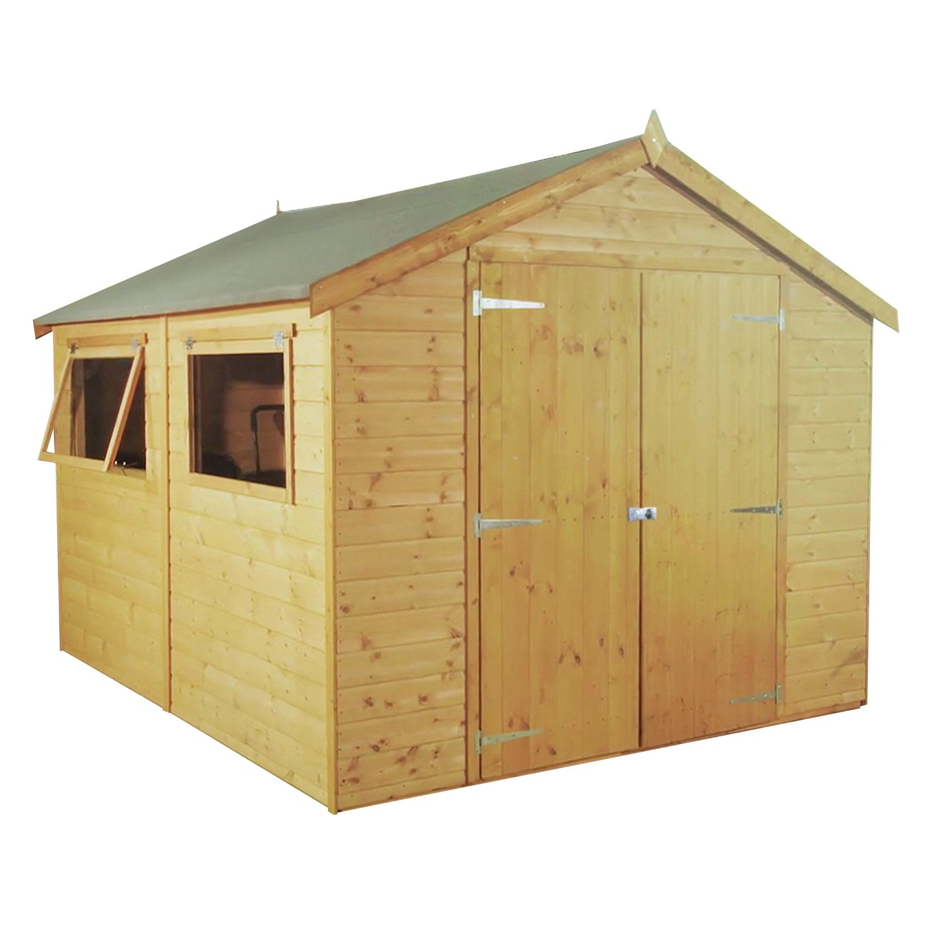 Mercia Wooden 10 x 6ft Premium Shiplap Shed