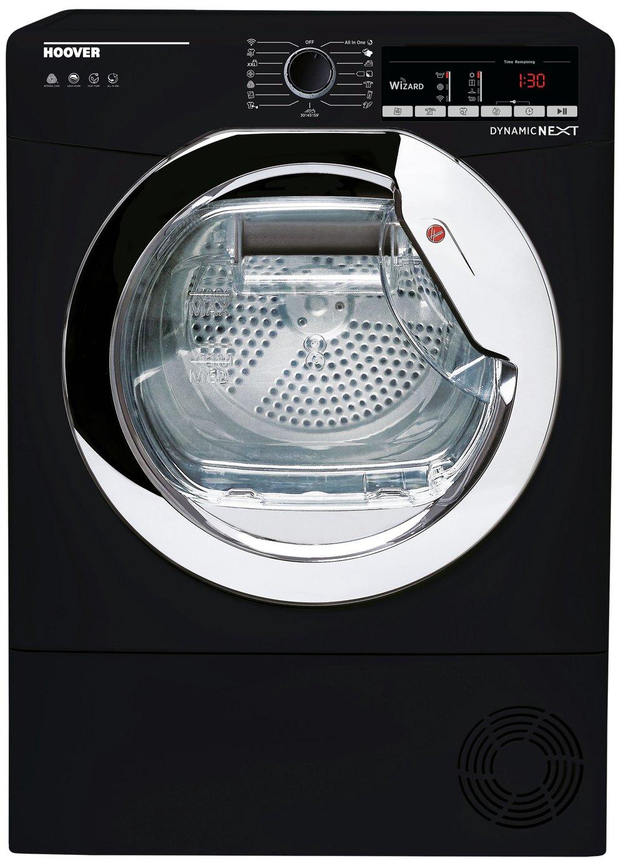 Hoover DXO C9TCEB 9KG Condenser Tumble Dryer - Black