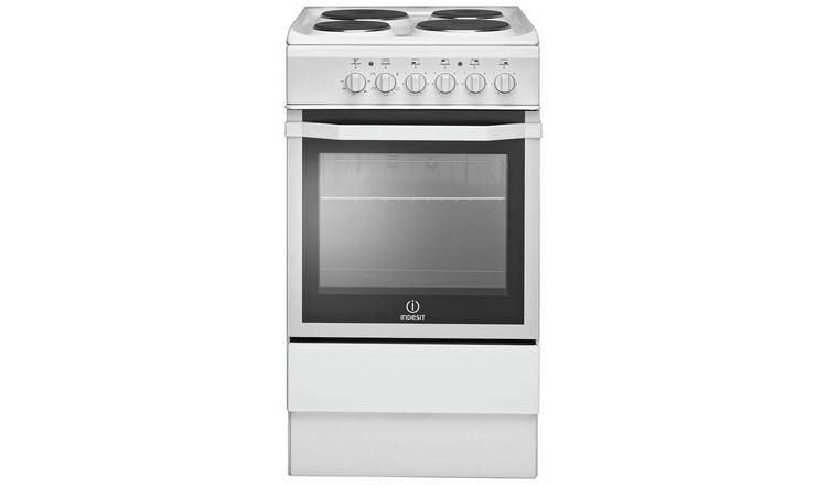 Buy Indesit Is5e4khw 50cm Single Oven Electric Cooker White Freestanding Cookers Argos