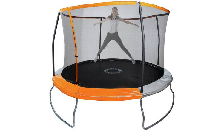 Sportspower 10ft Outdoor Kids Trampoline with Enclosure