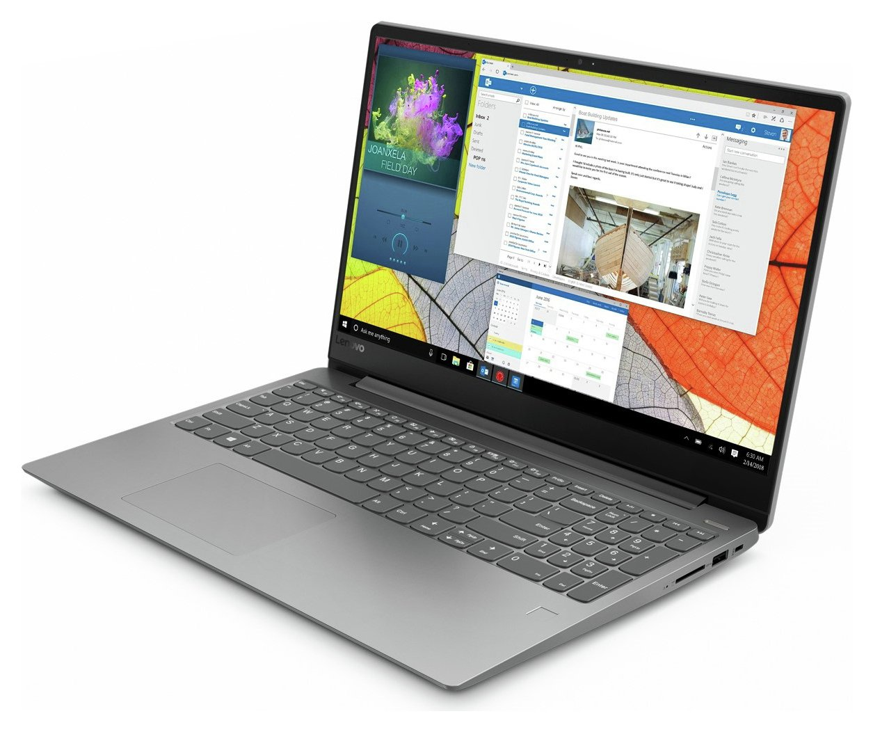 Lenovo IdeaPad 330S 15.6 Inch AMD A6 4GB 128GB Laptop - Grey
