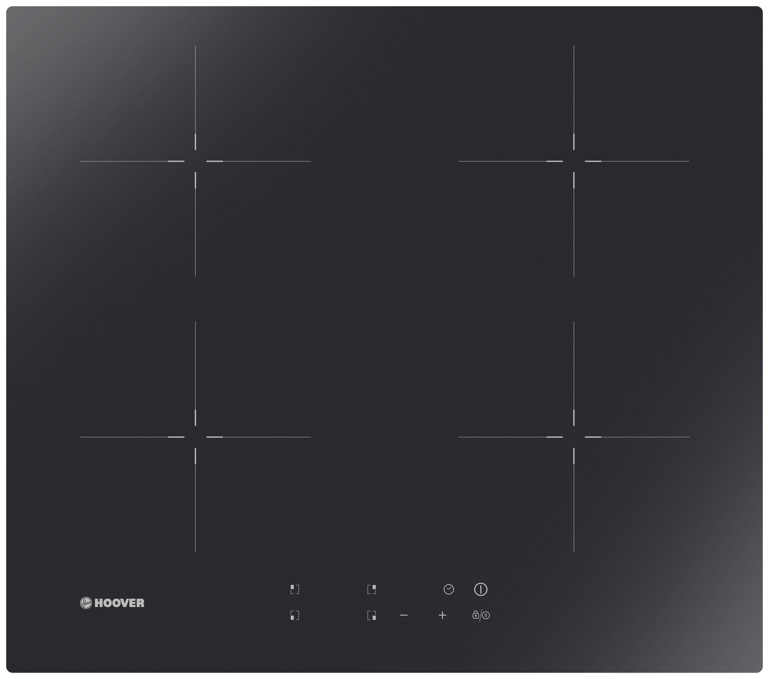 Hoover HIC642 Induction Hob - Black