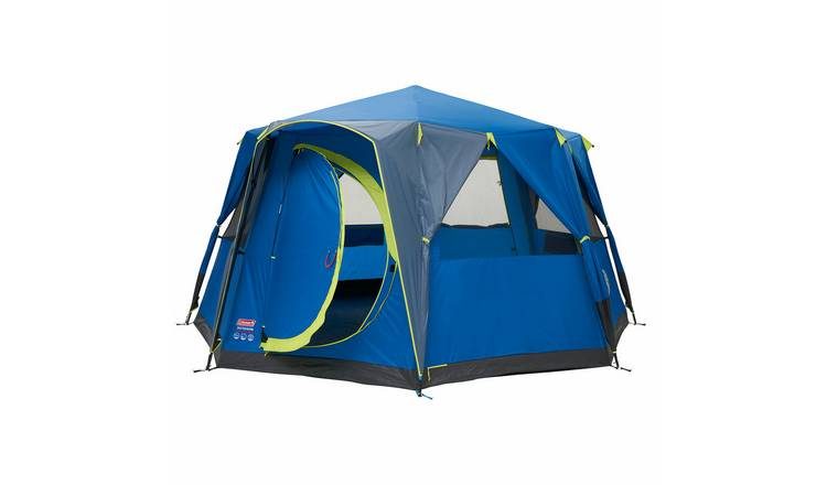 Buy Coleman 8 Man 1 Room Octagon Dome Camping Tent | Tents | Argos
