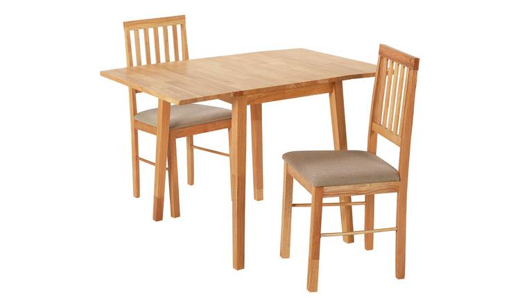 8dae454d896 Buy Argos Home Kendal Extendable Table   2 Chairs - Natural ...
