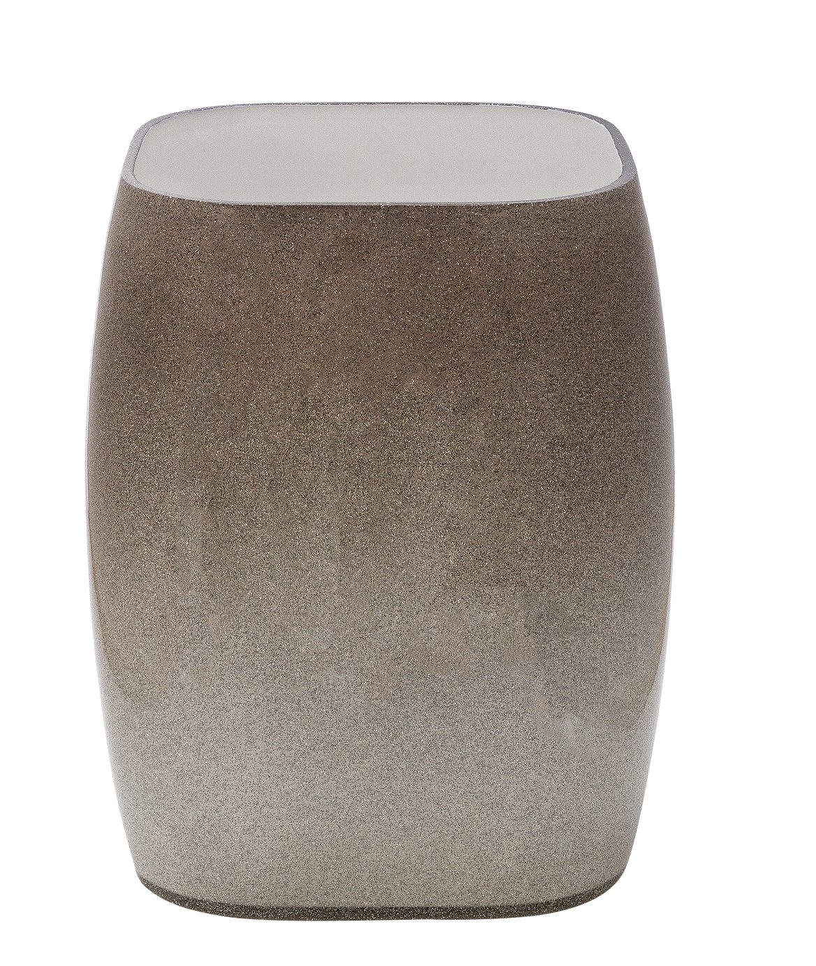 Argos Home 6.4 Litre Sparkle Bathroom Bin - Grey