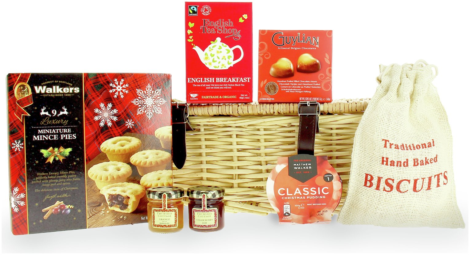 Lanchester Gifts Small Festive Hamper