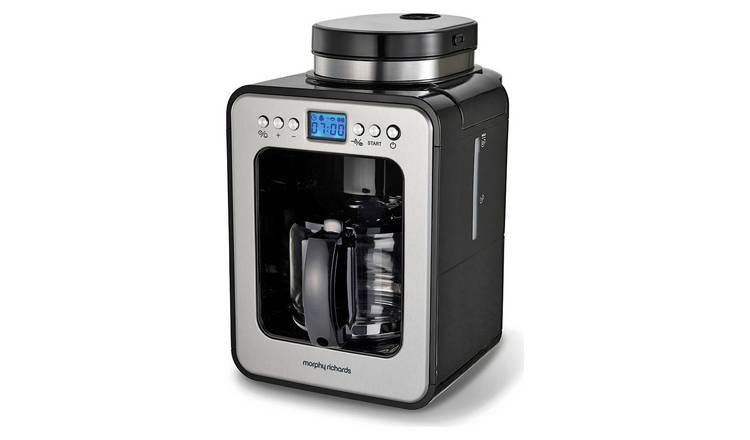 Buy Morphy Richards 162100 Bean To Cup Filter Coffee Machine Coffee Machines Argos