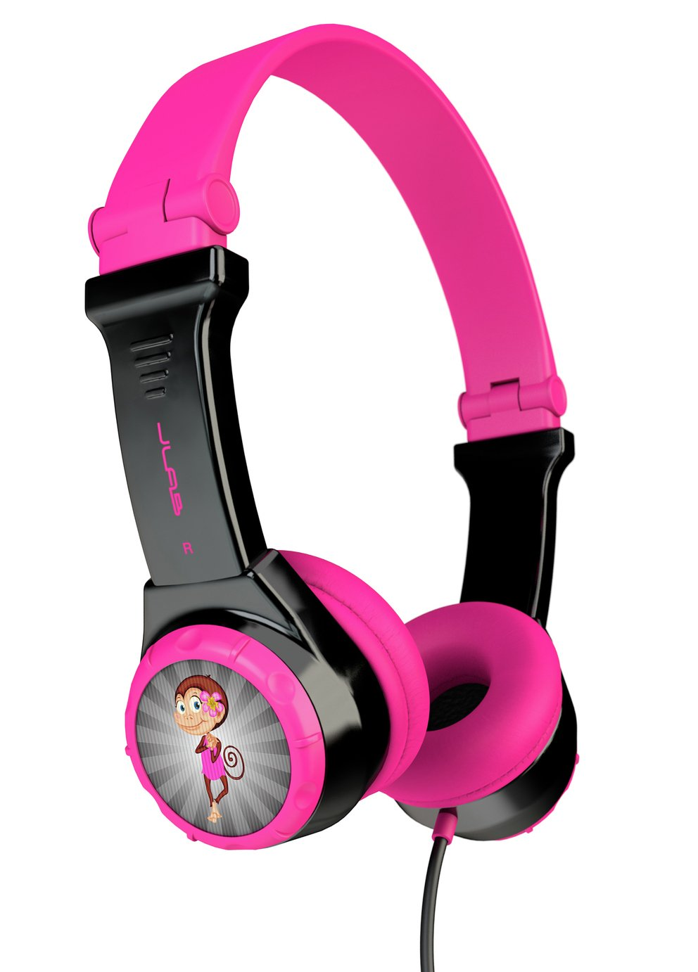 Jlab Audio Jbuddies Kids Headphones - Black / Pink
