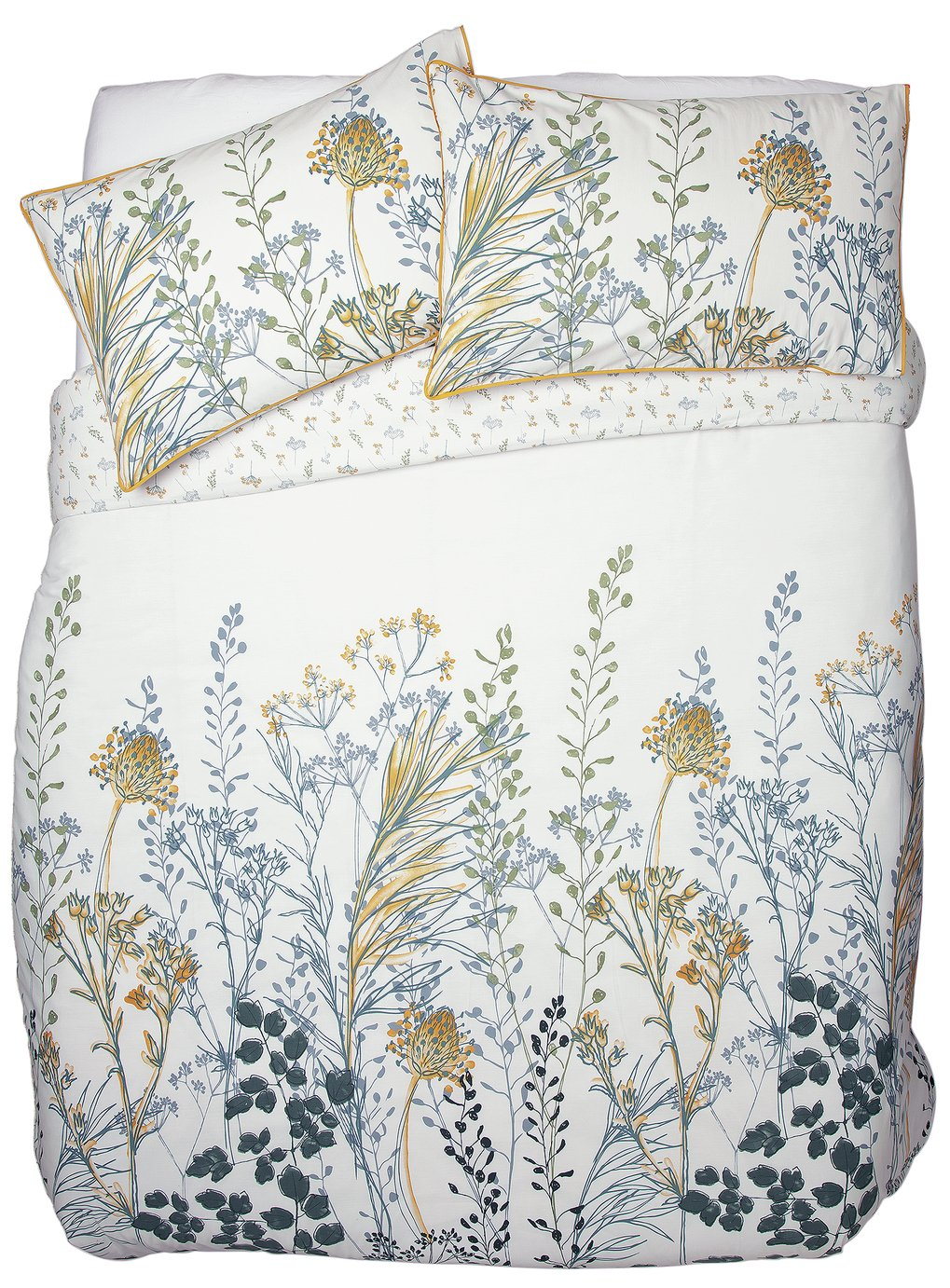 Argos Home Floral Crop Printed Bedding Set - Kingsize