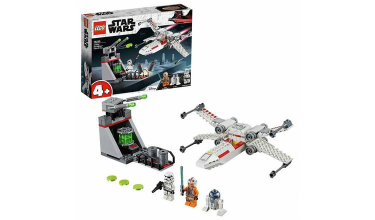 LEGO 4+ Star Wars X-Wing Starfighter Trench Run Set - 75235