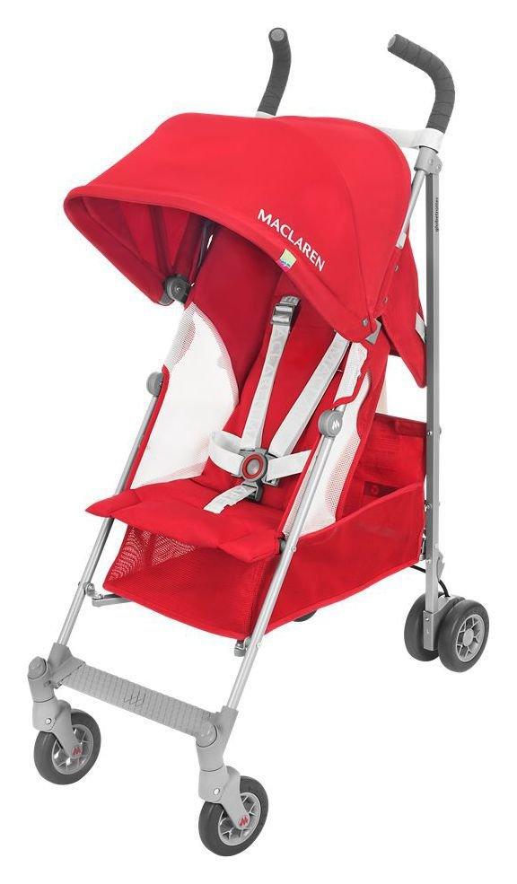 Maclaren Globetrotter Stroller - Red & White