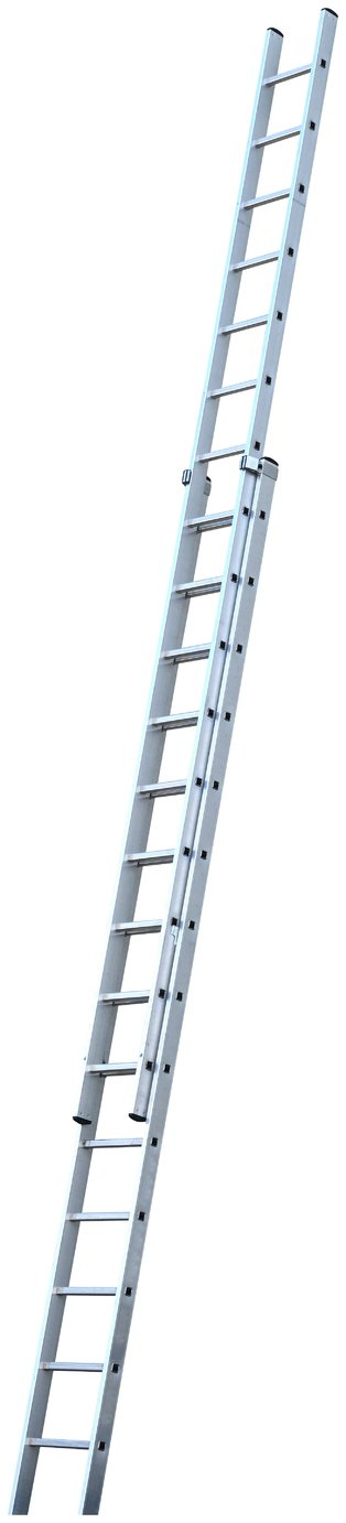 Werner Pro Extendable Double Ladder