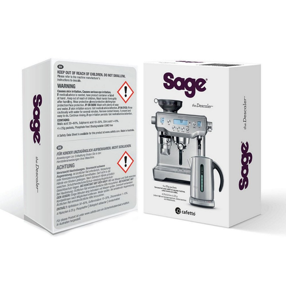 Sage The Descaler Pack of 4