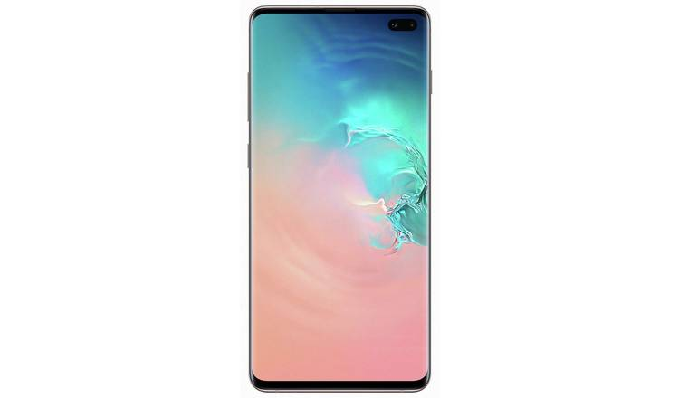 SIM Free Samsung Galaxy S10+ 512GB - Ceramic White