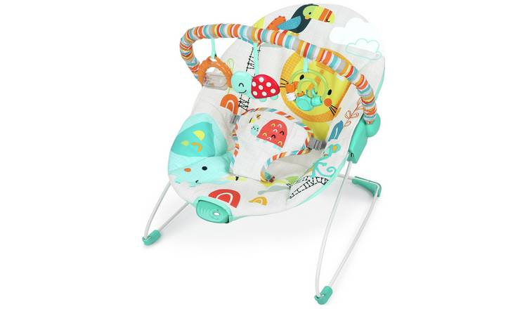 Chad Valley Jungle Friends Deluxe Baby Bouncer