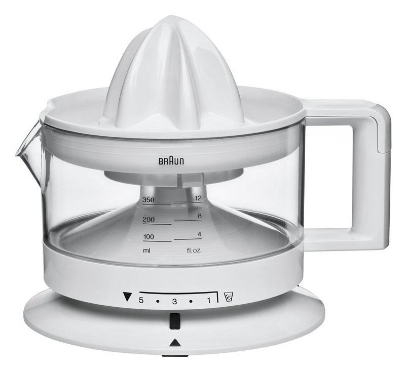 Braun CJ3000 Citrus Juicer- White