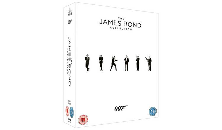 The James Bond Collection Blu-Ray Box Set