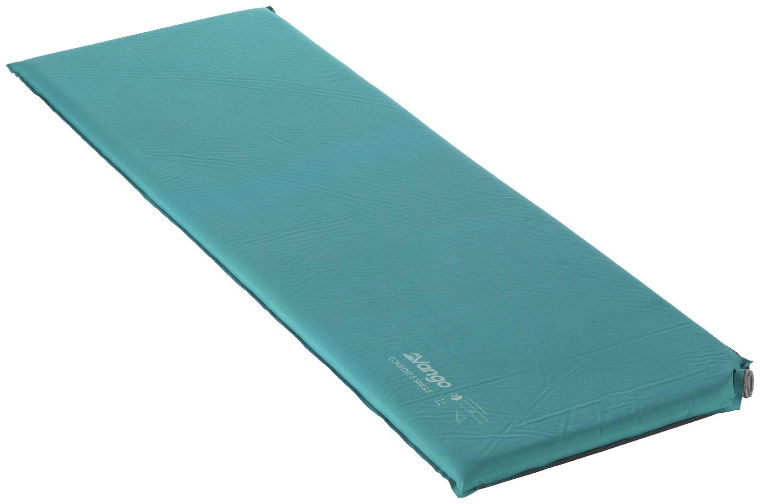 Vango Comfort 5cm Self-Inflating Camping Mat - Single