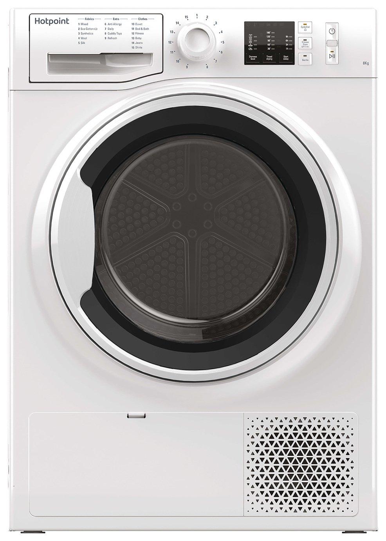 Hotpoint NTM1081WK 8KG Heat Pump Tumble Dryer - White