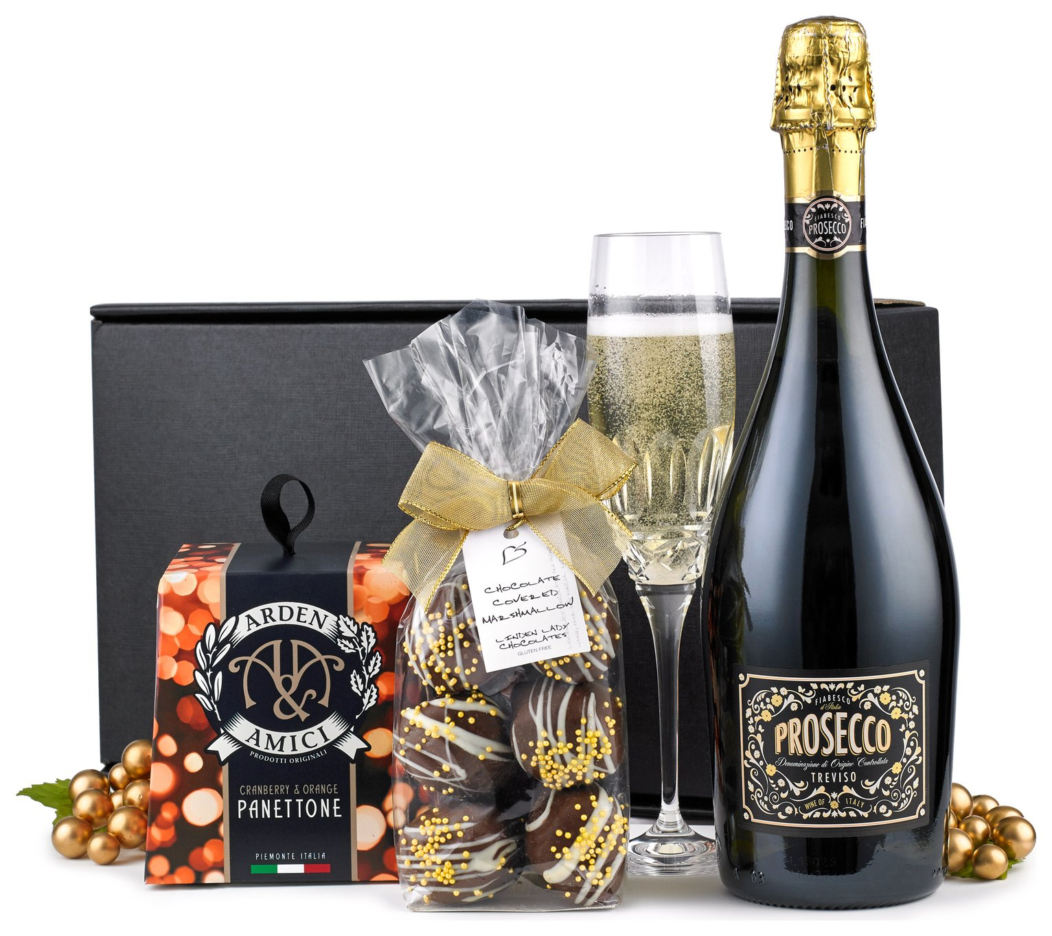 Lanchester Gifts Prosecco and Panettone