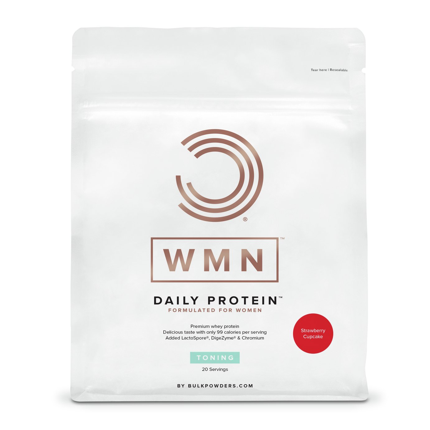WMN Daily Protein - Strawberry Cupcake - 500g