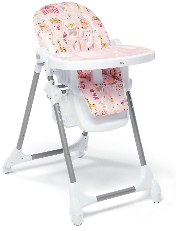 Mamas & Papas Snax Circus Highchair - Pink