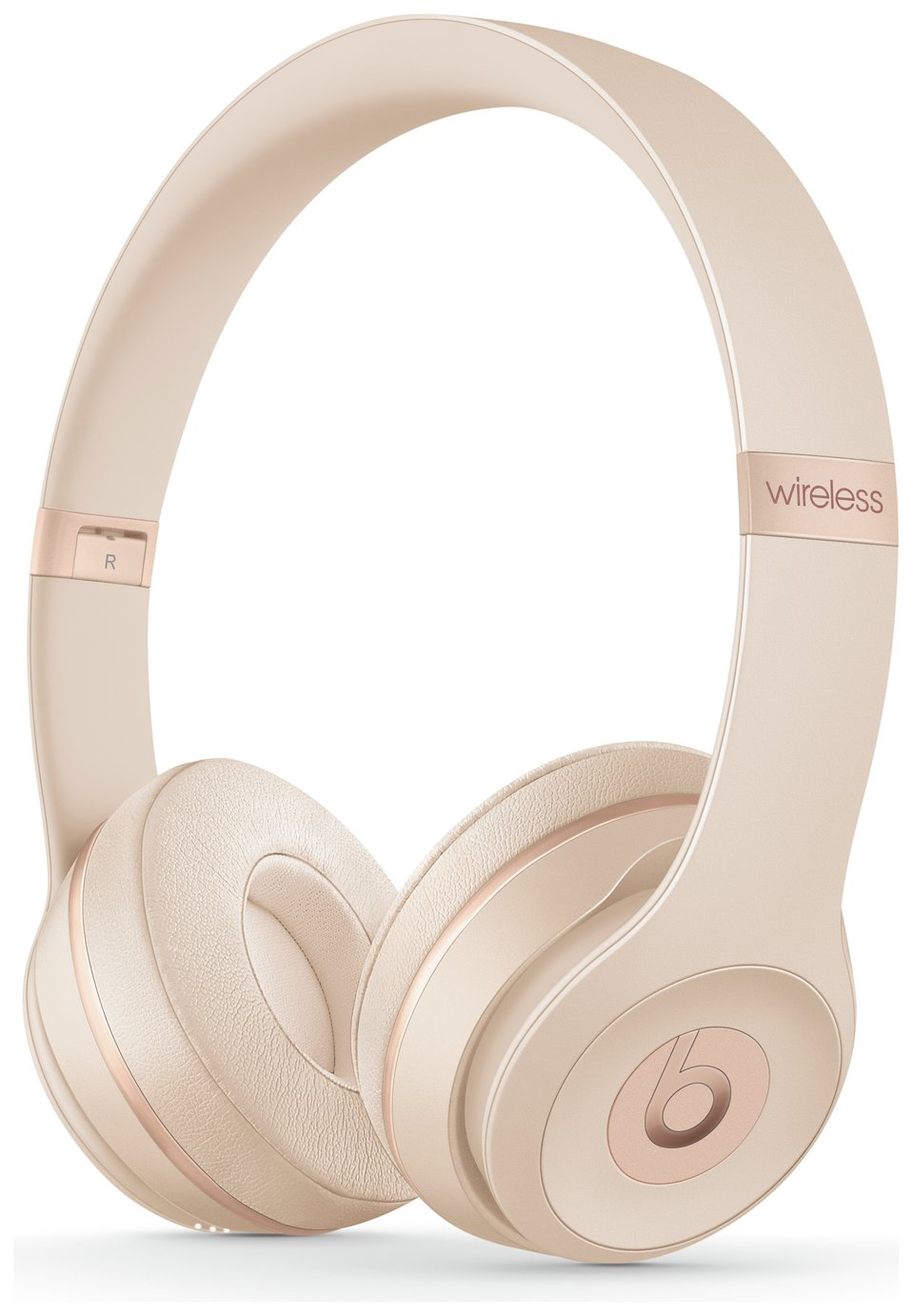 Beats by Dre Solo 3 On-Ear Wireless Headphones- Satin Gold