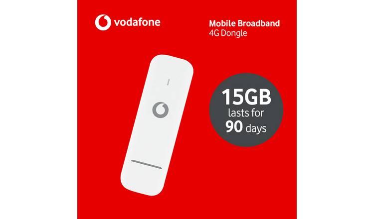 Buy Vodafone 15GB 4G Data Dongle | Mobile broadband | Argos