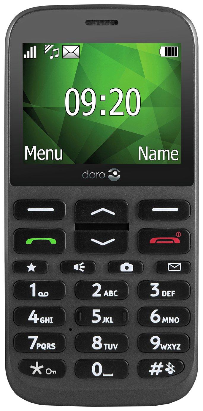 SIM Free Doro 1370 Mobile Phone - Graphite