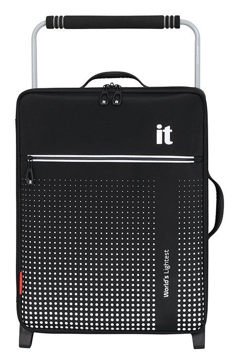 it Luggage World's Lightest 2 Wheel Soft Cabin Suitcase