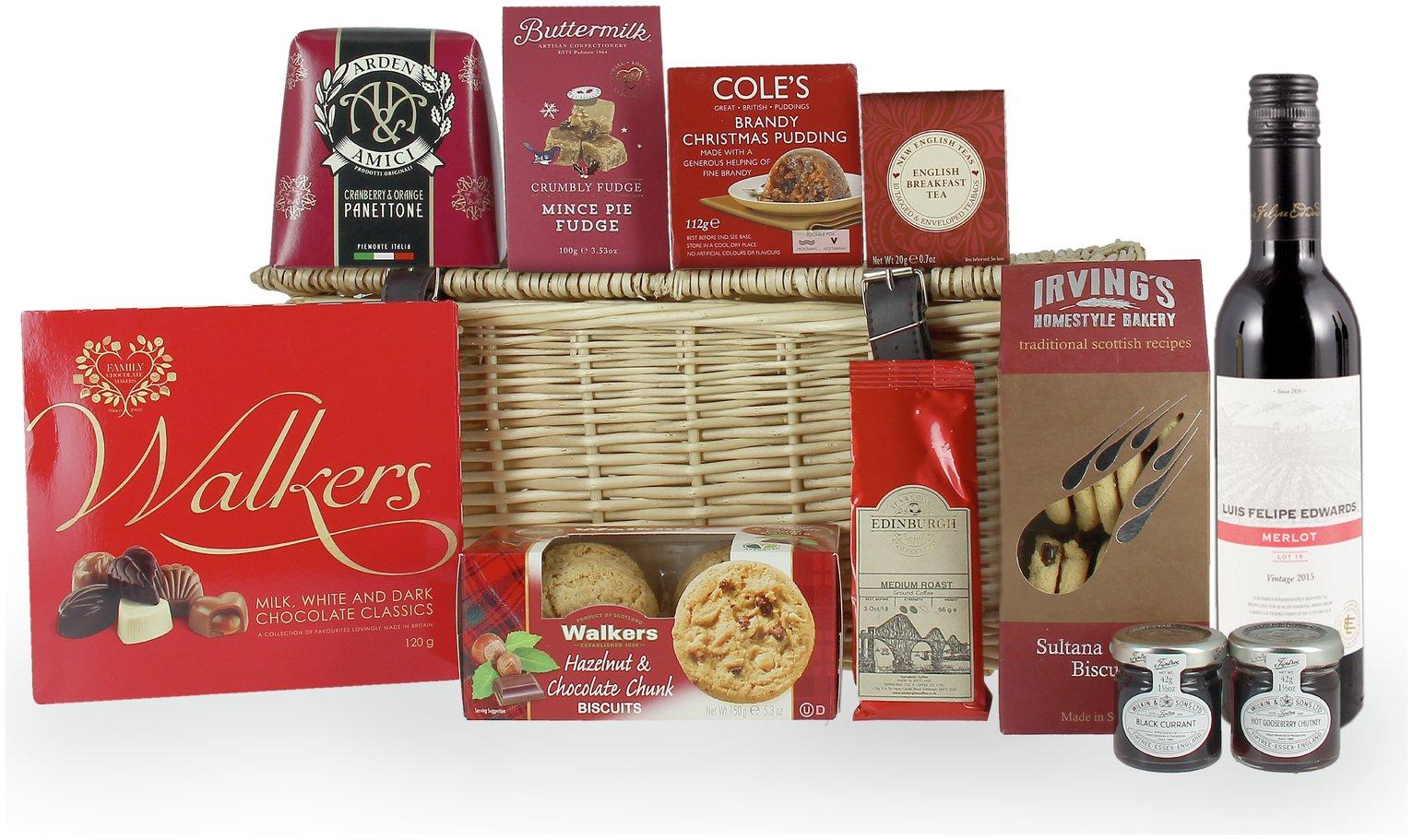 Lanchester Gifts Large Festive Hamper