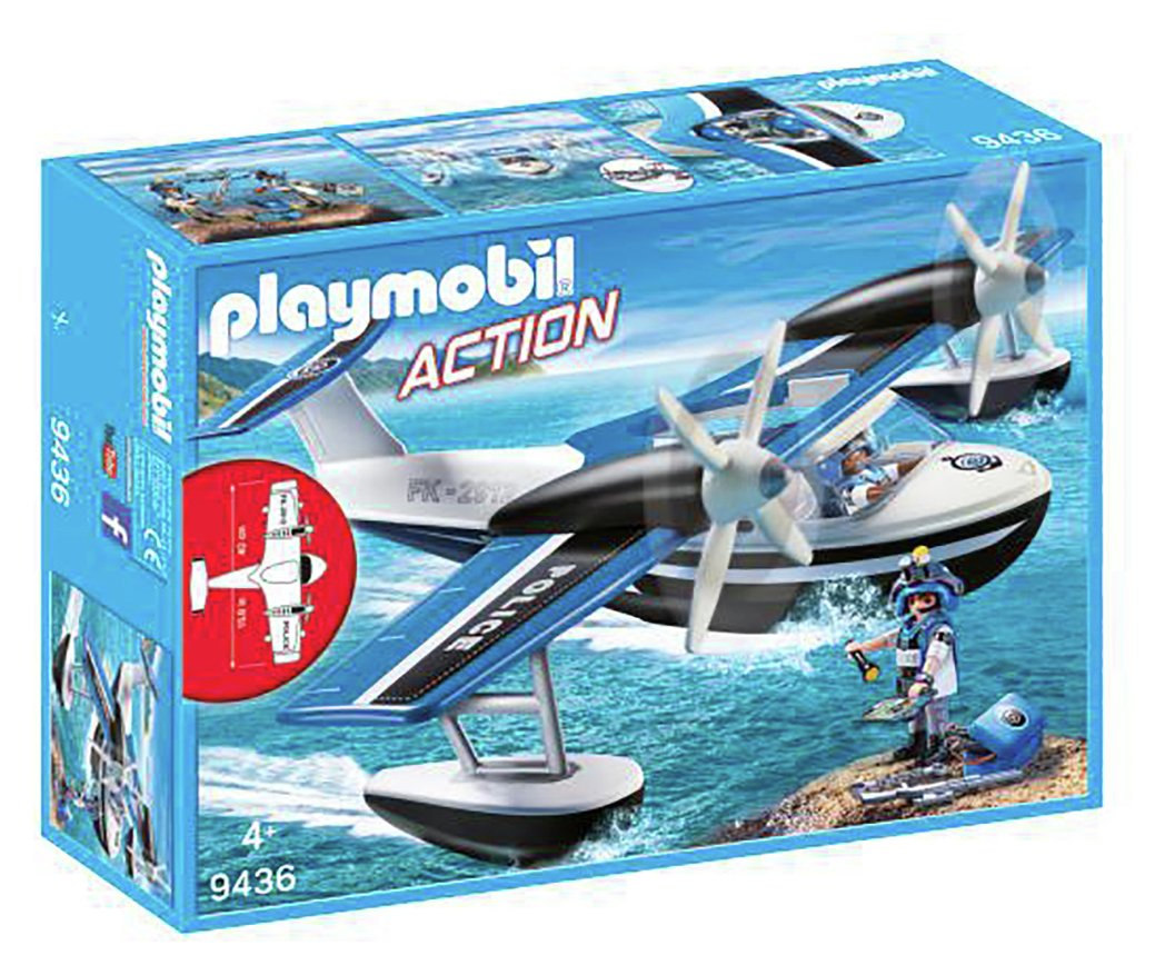 Playmobil 9436 City Action Police Seaplane