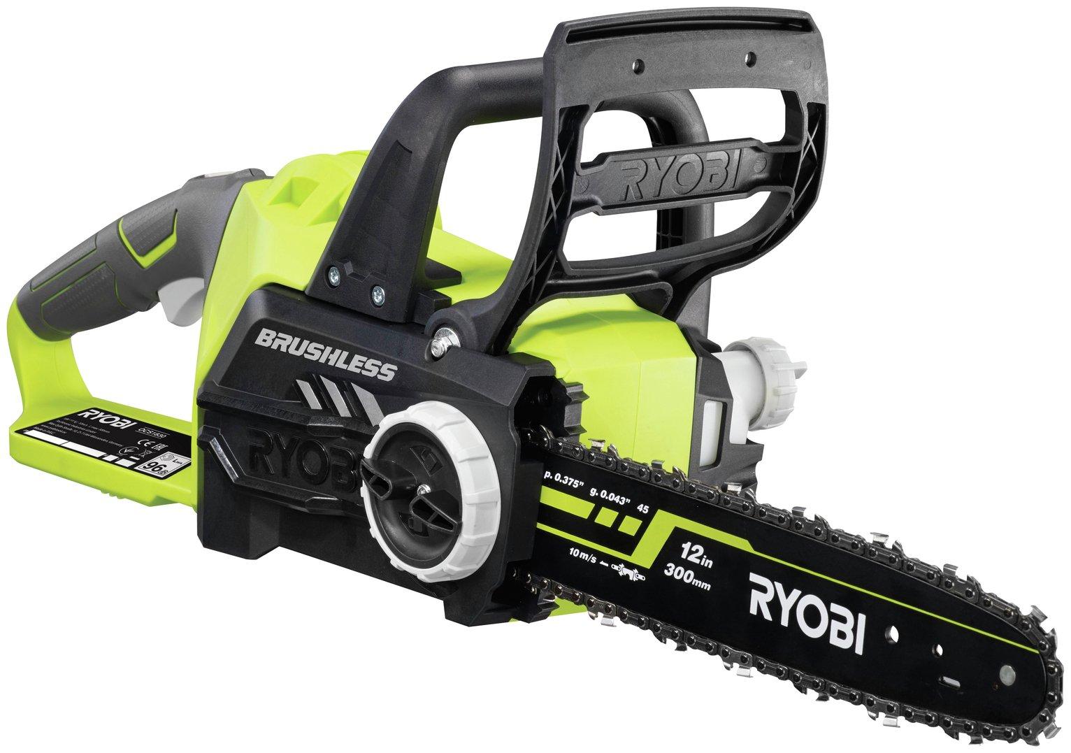 Ryobi OCS1830 ONE+ Cordless Brushless Chainsaw - 18V