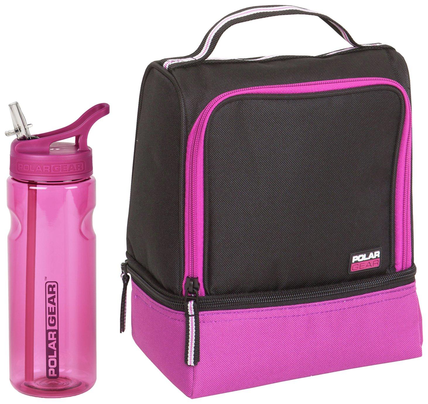 Polar Gear Lunch Bag & Bottle - Berry
