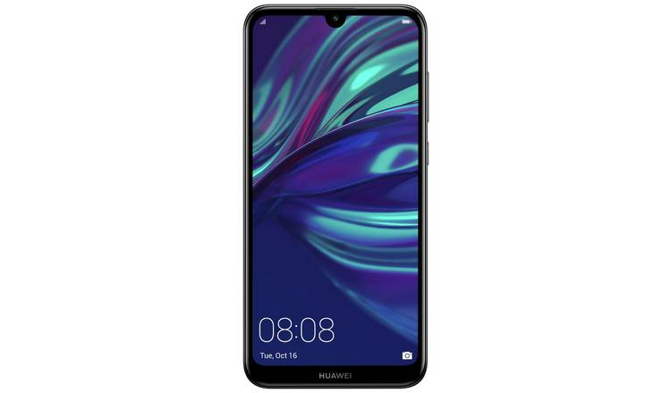 Buy SIM Free Huawei Y7 32GB Mobile Phone - Midnight Black | SIM free phones  | Argos