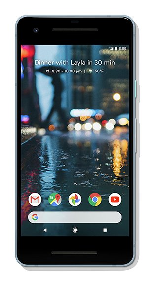 SIM Free Google Pixel 2 64GB Mobile Phone - Blue