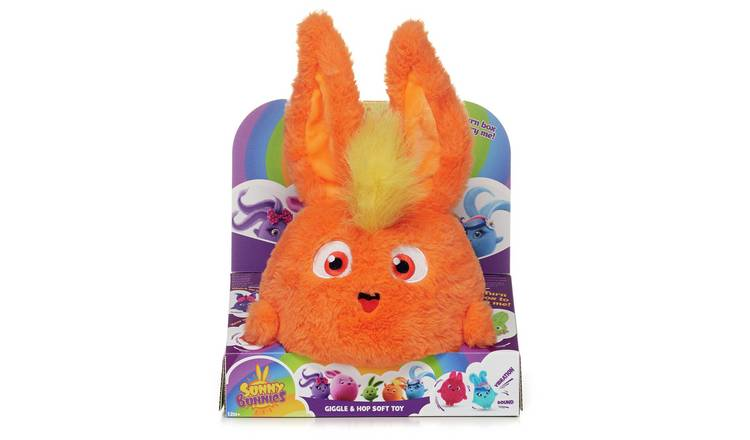 Sunny Bunnies Large Hopping Turbo Fluffy Toy