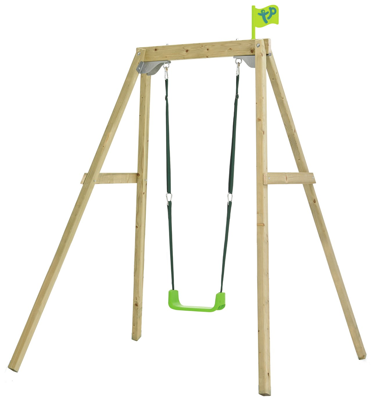 TP 2 In 1 Wooden Swing Set