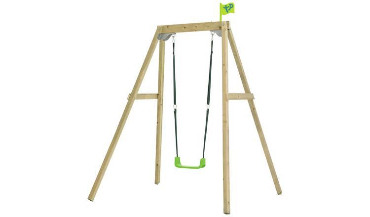 Buy Tp 2 In 1 Wooden Swing Set Swings Argos