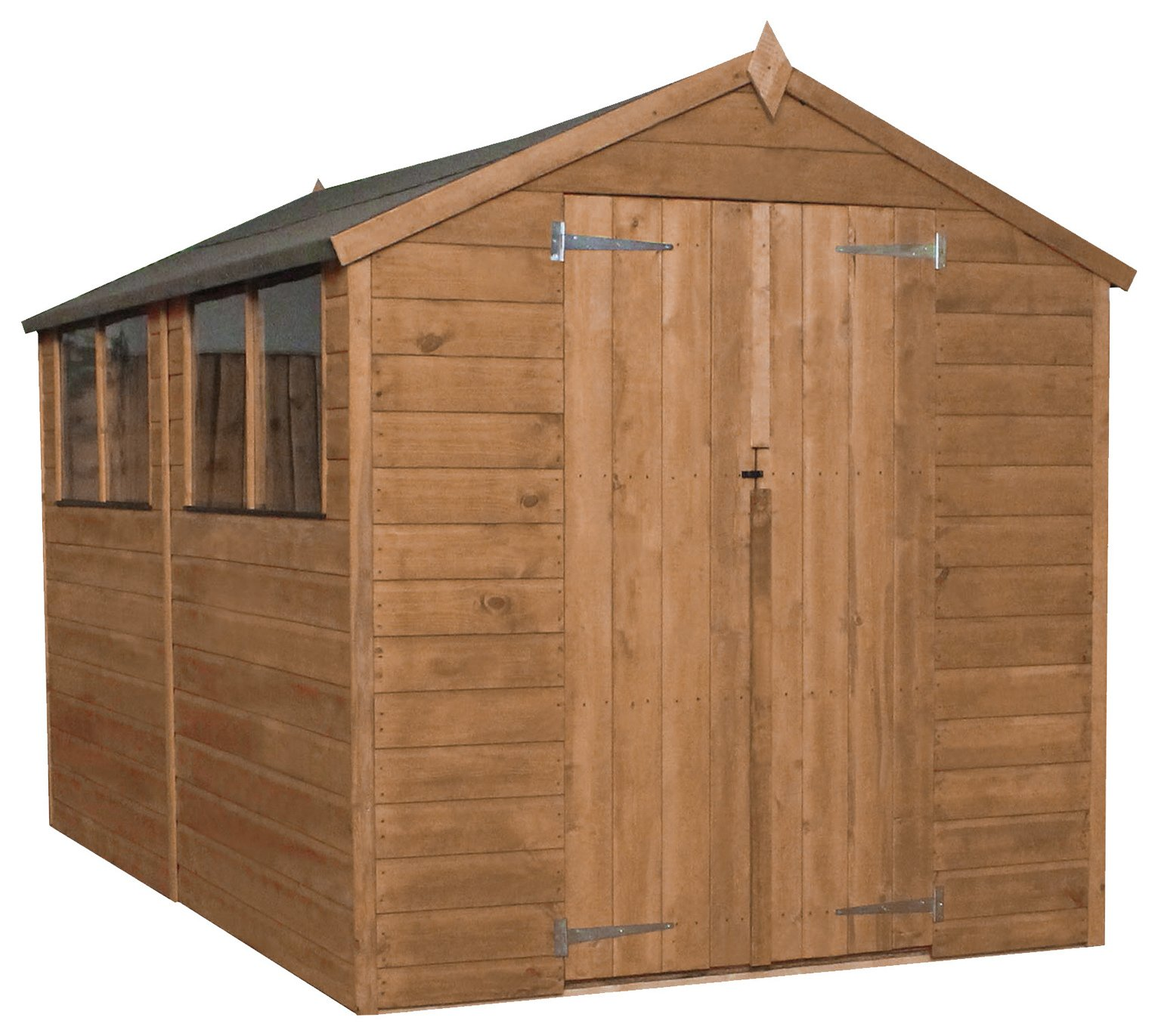 Mercia Wooden 10 x 6ft Shiplap Shed