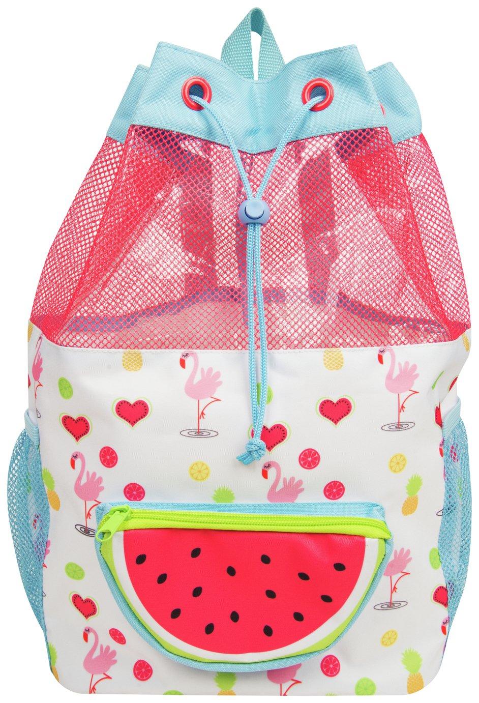 Fruity Flamingo Watermelon Swim Duffle Bag