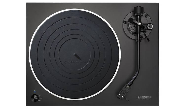 Audio-Technica AT-LP5 Direct-Drive USB Turntable – Black