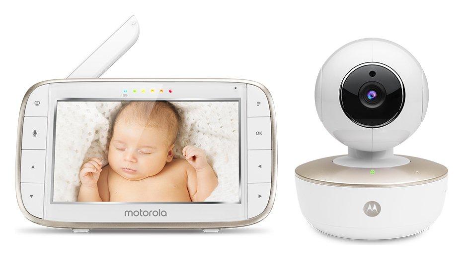 Motorola MBP 855C Smart Video 5 Inch Baby Monitor