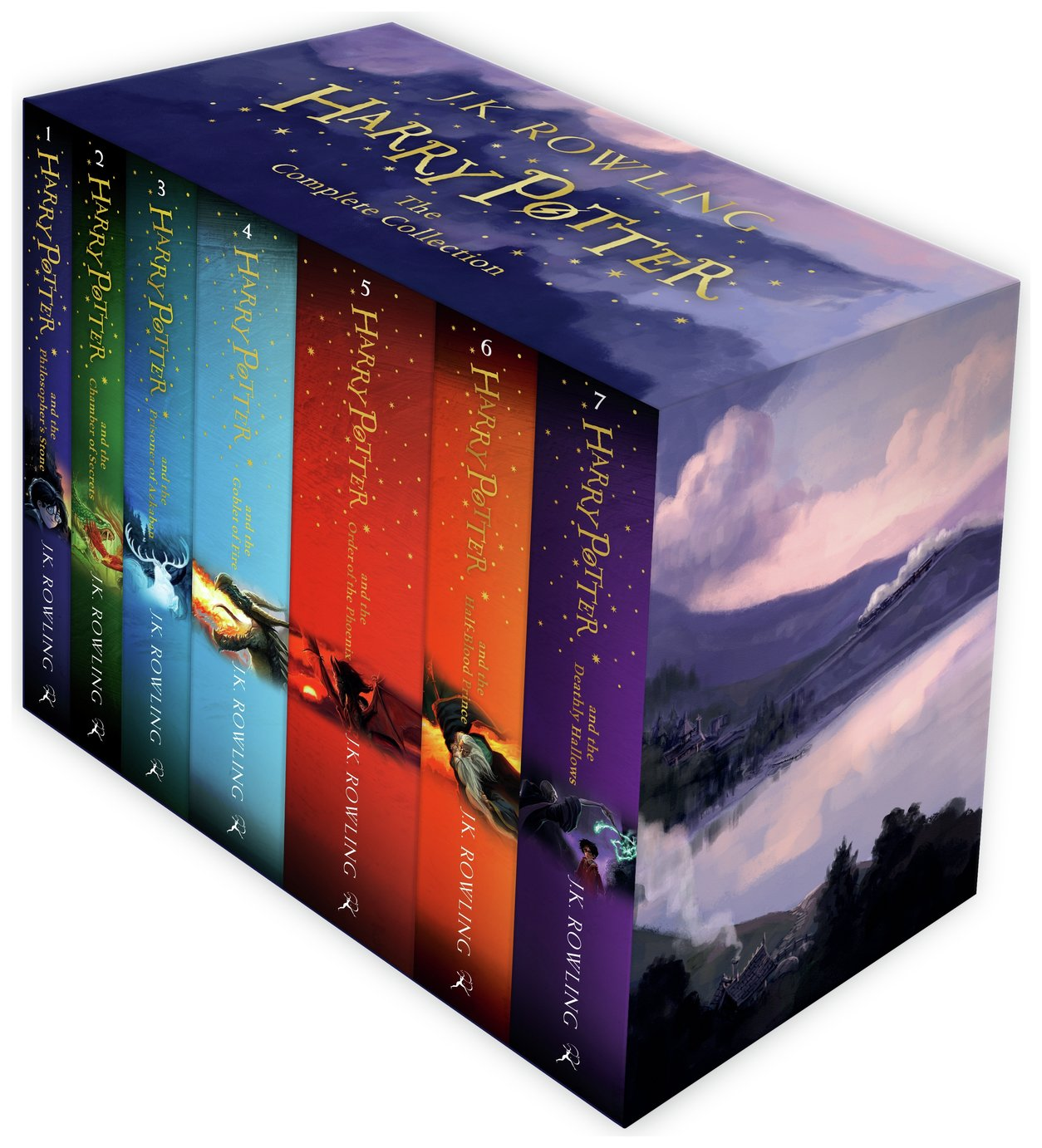 Harry Potter: The Complete Collection Paperback Box Set
