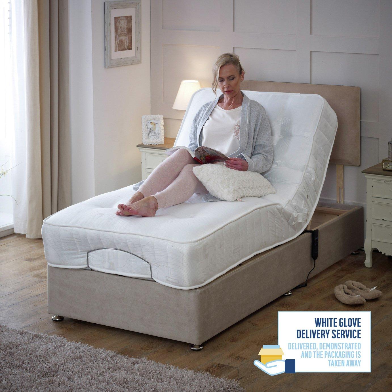 Drive Devilbiss 3ft Royal Adjustable Bed Divan