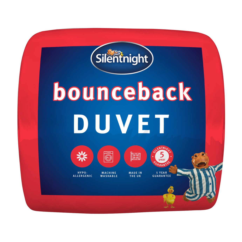 Silentnight Bounceback 13.5 Tog Duvet - Single