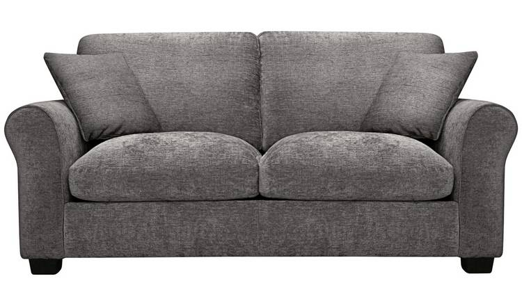 Buy Argos Home Tammy 2 Seater Fabric Sofa bed - Charcoal | Sofa beds | Argos